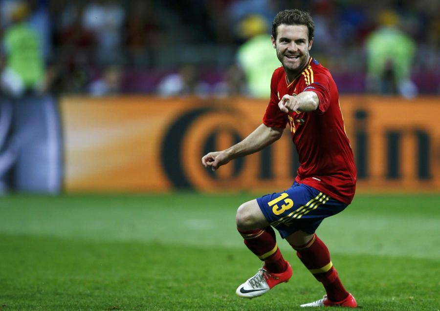 Juan Mata, ici sous le maillot de la Roja