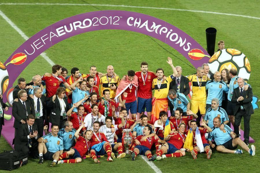 L'Espagne remportait l'Euro 2012