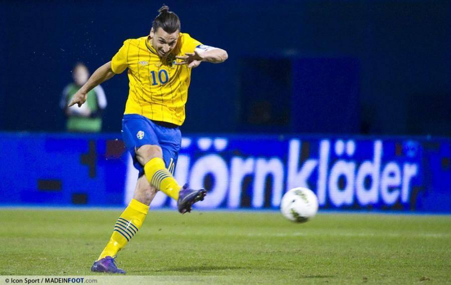 Zlatan Ibrahimovic affrontera bien l'Estonie, ce soir, avec la sélection suédoise