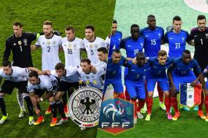 Les compos probables du match entre l'Allemagne et la France...