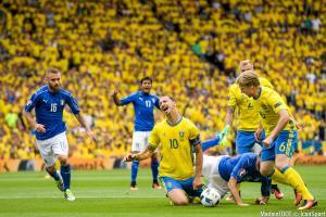 Ibrahimovic quitte la sélection suédoise la larme à l'oeil