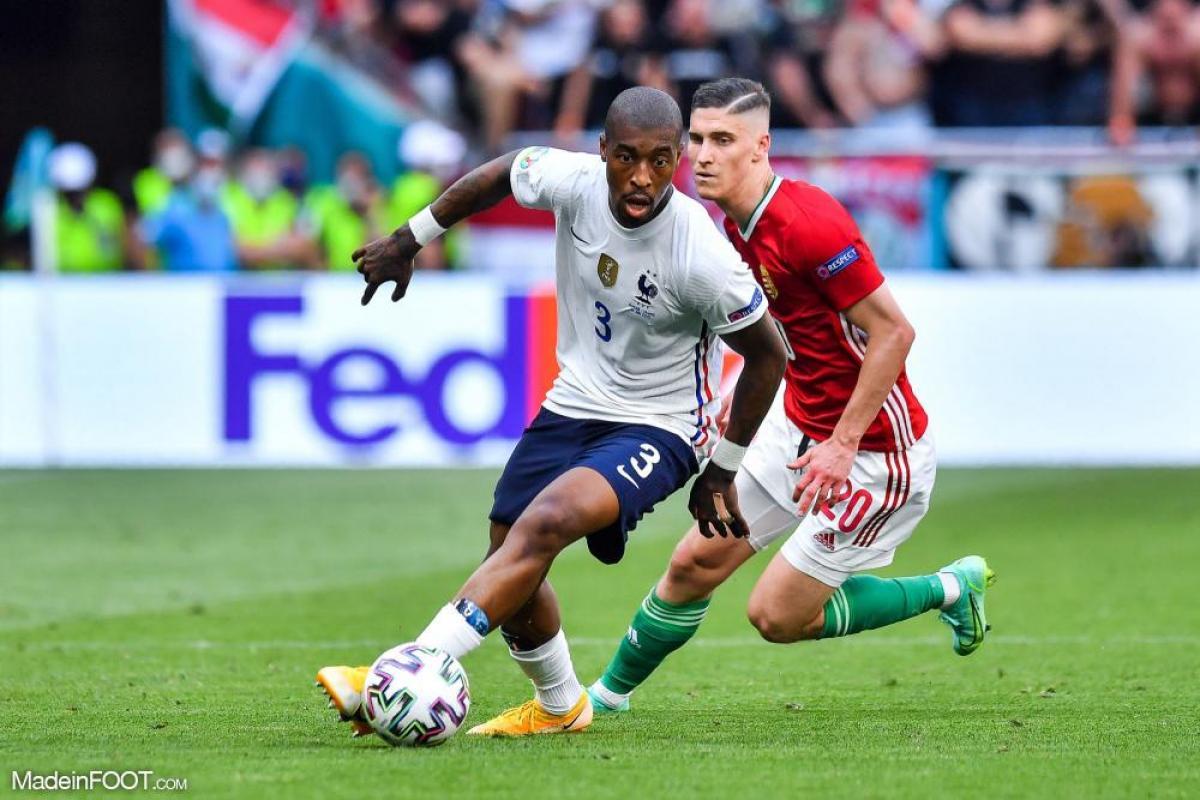 Kimpembe sous le maillot de la France