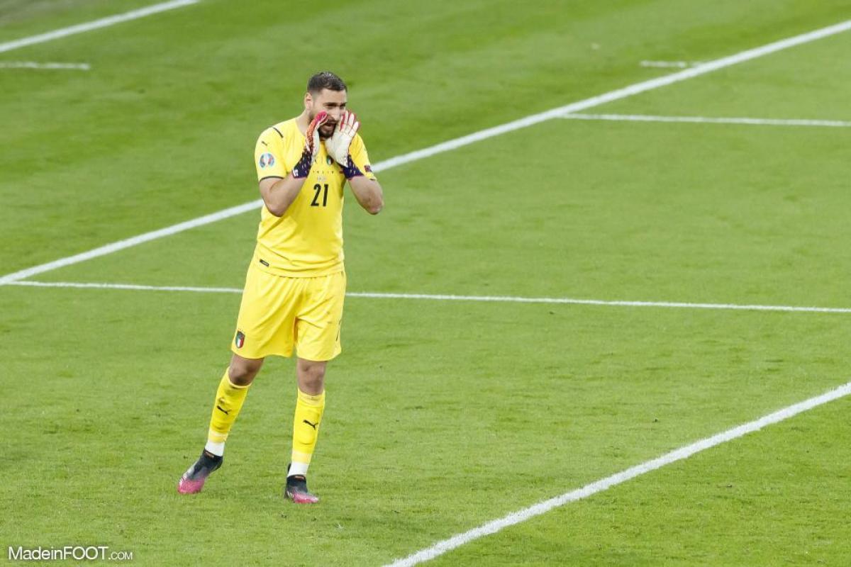 Gianluigi Donnarumma, le gardien de but du PSG et de l'Italie.