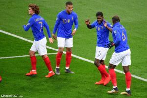 Kylian Mbappé (France) devrait profiter de l'absence d'Olivier Giroud pour évoluer en pointe.