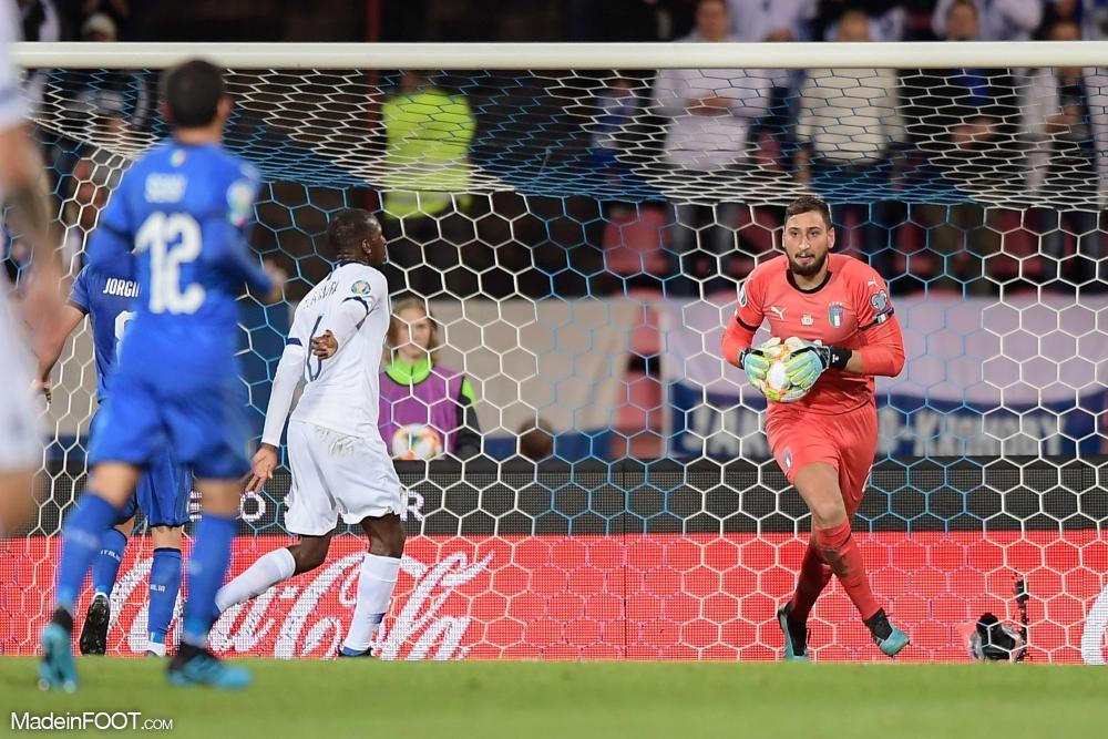 Gianluigi Donnarumma dispute actuellement l'Euro 2020 avec l'Italie