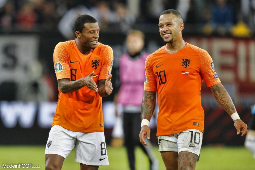 Wijnaldum avec les Pays-Bas