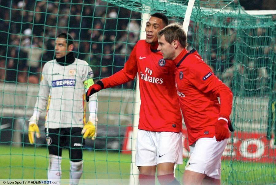 Guillaume Hoarau a inscrit un doublé face au FC Seville (4-2).