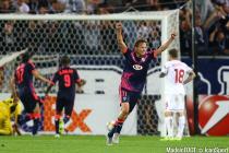 joie de Clement Chantome  - 17.09.2015 -  Bordeaux / Liverpool  - Europa League