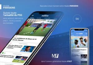 Mobile - Suivez le PSG sur votre smartphone !