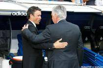 Carlo Ancelotti / Luis Enrique - 25.10.2014 - Real Madrid / Barcelone - 9eme journee de Liga