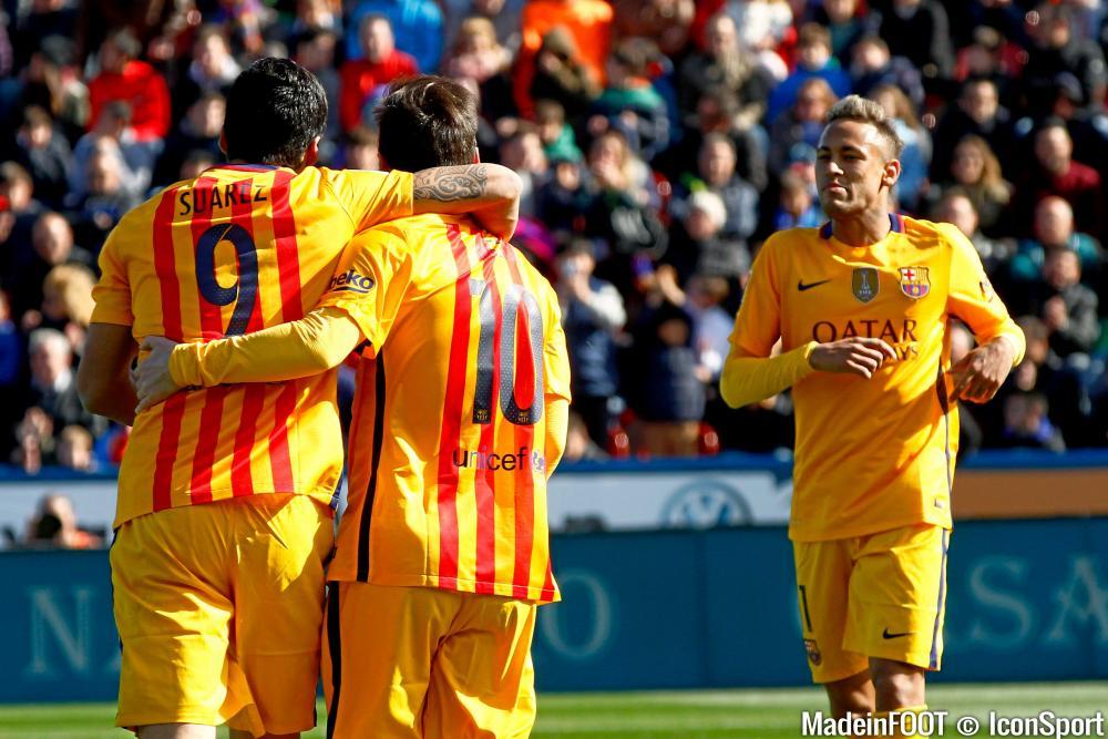 Neymar a rencontré Messi