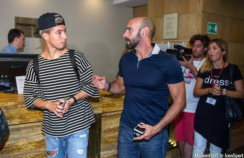 Monchi a activement participé au recrutement de Samir Nasri à Séville cet été.