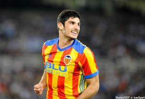 Gonçalo Guedes, ici sous les couleurs du Valence CF.