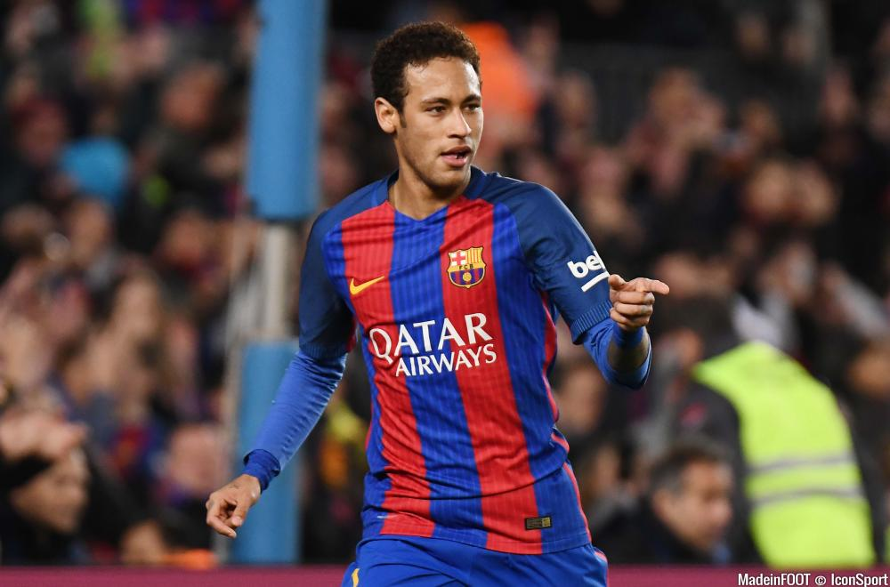 Neymar est, de son côté, à Barcelone