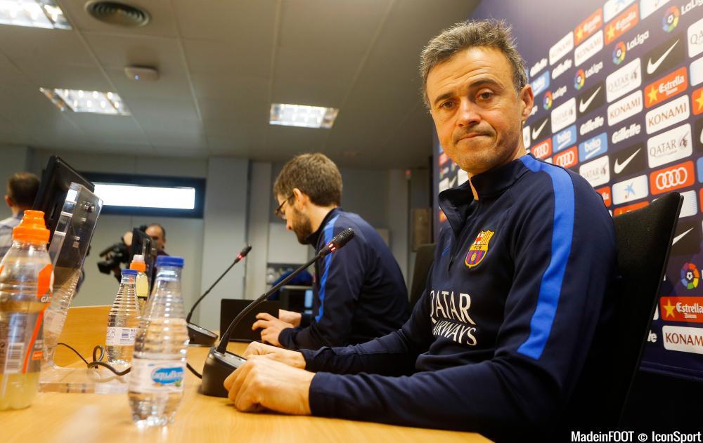 Luis Enrique et le Barça sont prêts à créer l'exploit face au PSG.