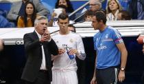 Ancelotti et Bale (Real Madrid)