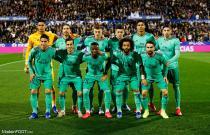 L'équipe du Real Madrid