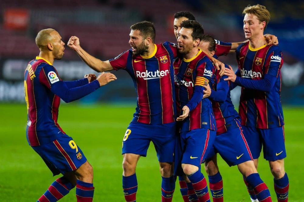 Messi a marqué un doublé face à Elche