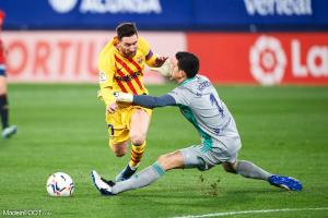 Messi avec le maillot du Barça