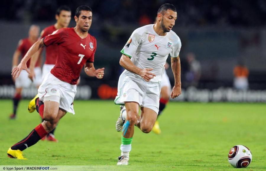 Nadir Belhadj avec sa sélection