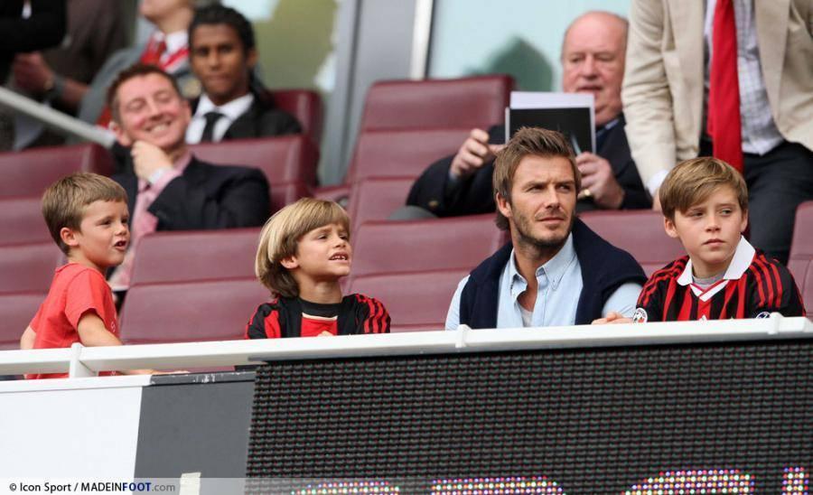 Beckham heureux