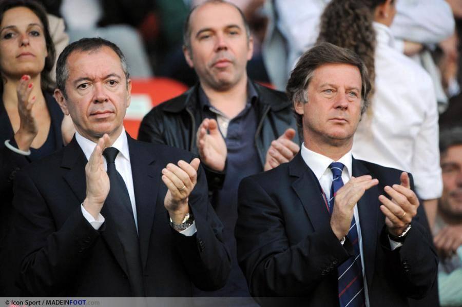 Robin Leproux et Sébastien Bazin peuvent se féliciter eux-même d'avoir réussi la vente du PSG