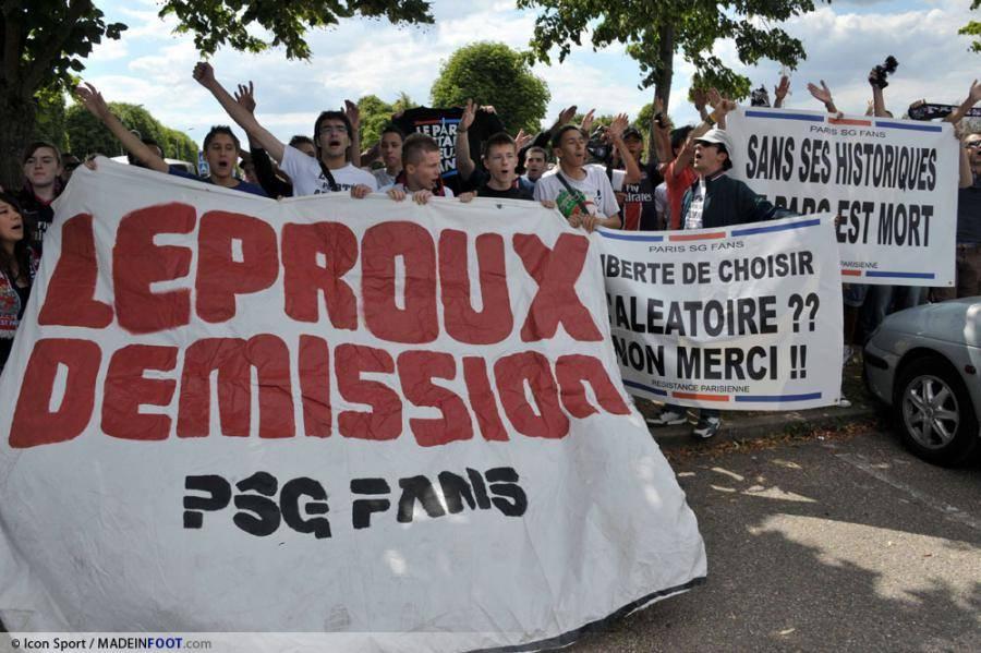 Paris a des supporters en colère