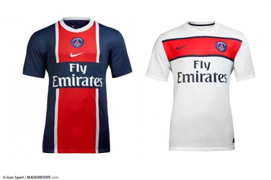 Nouveau maillot pour Paris
