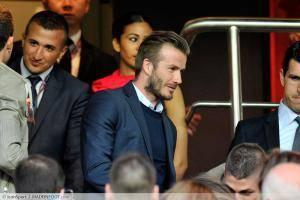 Beckham encourage les Parisiens