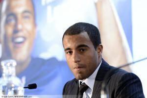Lucas, lors de son arrivée au PSG début 2013.