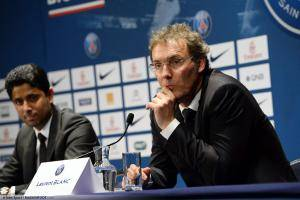 Laurent Blanc, ici sous les couleurs du PSG.