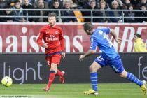 David BECKHAM  - 13.04.2013 - Troyes / Paris Saint Germain - 32eme  Journee de Ligue 1