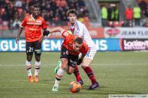 Gregory BOURILLON / Yoann GOURCUFF - 22.12.2013 - Lorient / Lyon - 19eme journee de Ligue 1 -