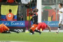 Joie SIAKA TIENE - 24.08.2013 - Montpellier / Sochaux - 3eme journee de Ligue 1 -