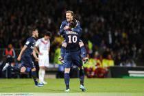 PSG Champion - David BECKHAM / Zlatan IBRAHIMOVIC - 12.05.2013 - Lyon / Paris Saint Germain - 36e journee Ligue 1