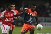 Siaka TIENE - 14.09.2013 - Montpellier / Reims - 5eme journee de Ligue 1 -
