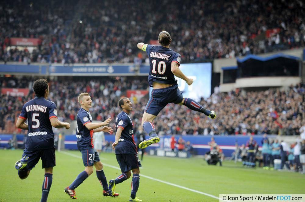 Ibrahimovic a impressionné en 2013-2014