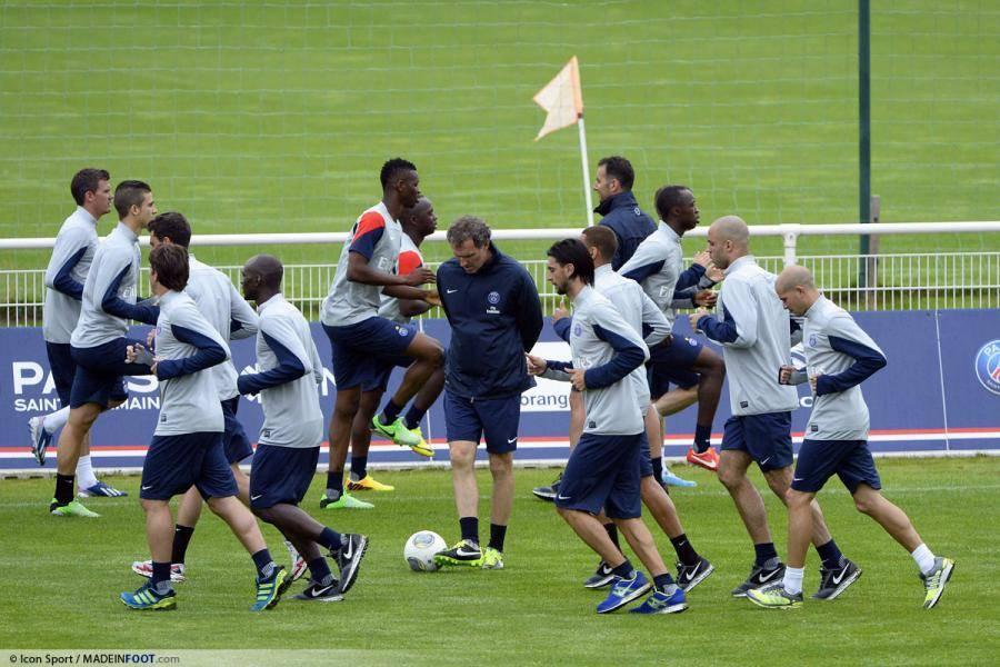 Le groupe du Paris Saint-Germain a été communiqué
