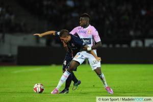 Marco VERRATTI / Clarck NSIKULU - 22.08.2014 - Evian Thonon / Paris Saint Germain - 3eme journee de Ligue 1 -