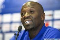 Claude MAKELELE - 27.05.2014 - Conference de presse - Presentation nouvel entraineur de Bastia