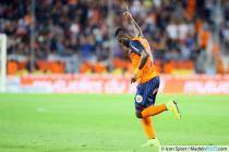 joie Siaka TIENE - 23.08.2014 - Montpellier / Metz - 3e journee Ligue 1