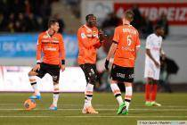 Vincent ABOUBAKAR / Gregory BOURILLON - 01.02.2014 - Lorient / Monaco - 23eme journee de Ligue 1 -