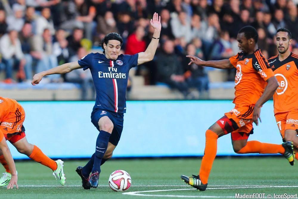 Les notes de la rencontre entre le FC Lorient et le Paris Saint-Germain