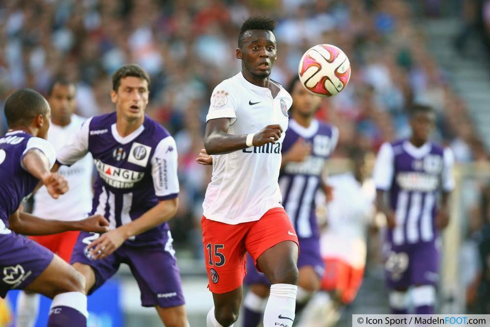 Bahebeck est sous contrat avec le Paris Saint-Germain jusqu'en 2019