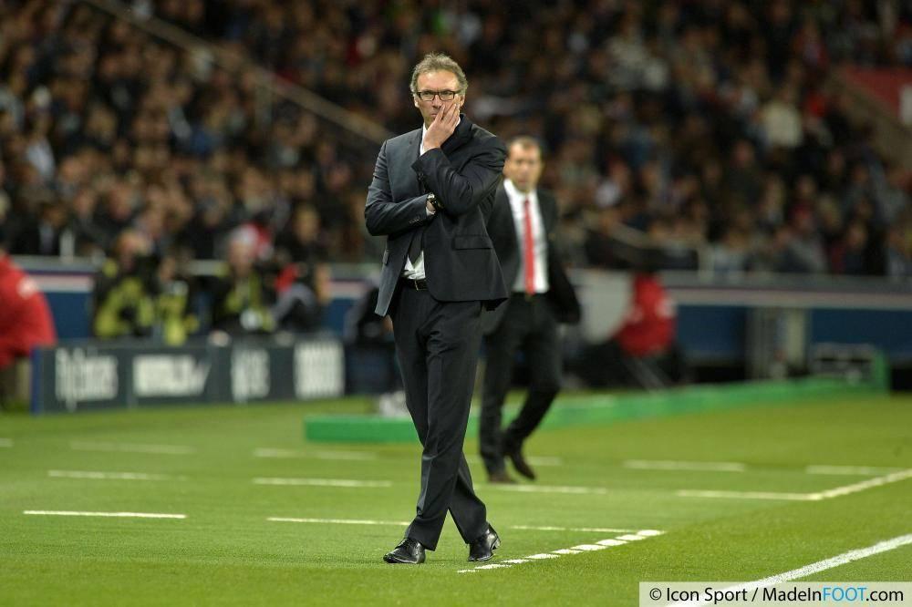 Laurent Blanc, l'ancien entraîneur du Paris Saint-Germain.