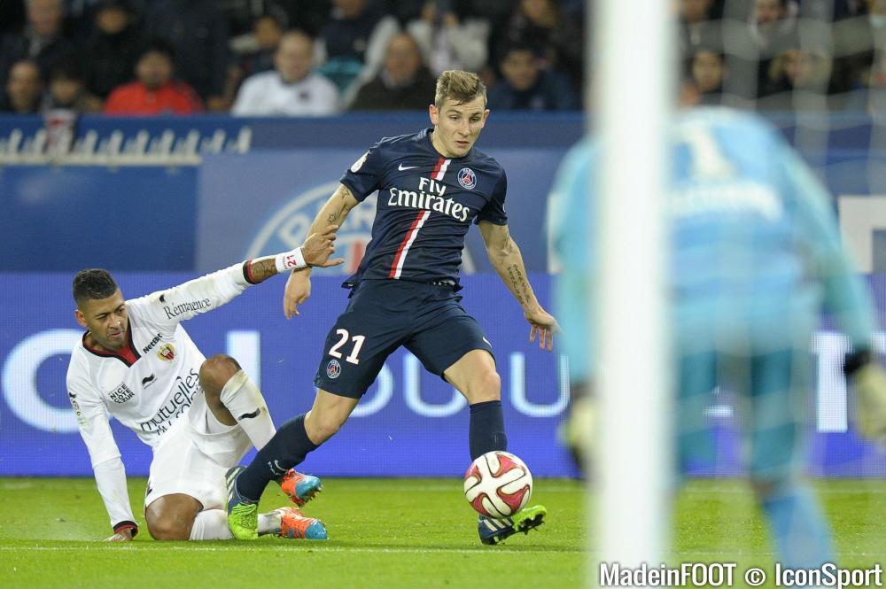 Lucas Digne ne s'est pas montré à son avantage, face à Nice