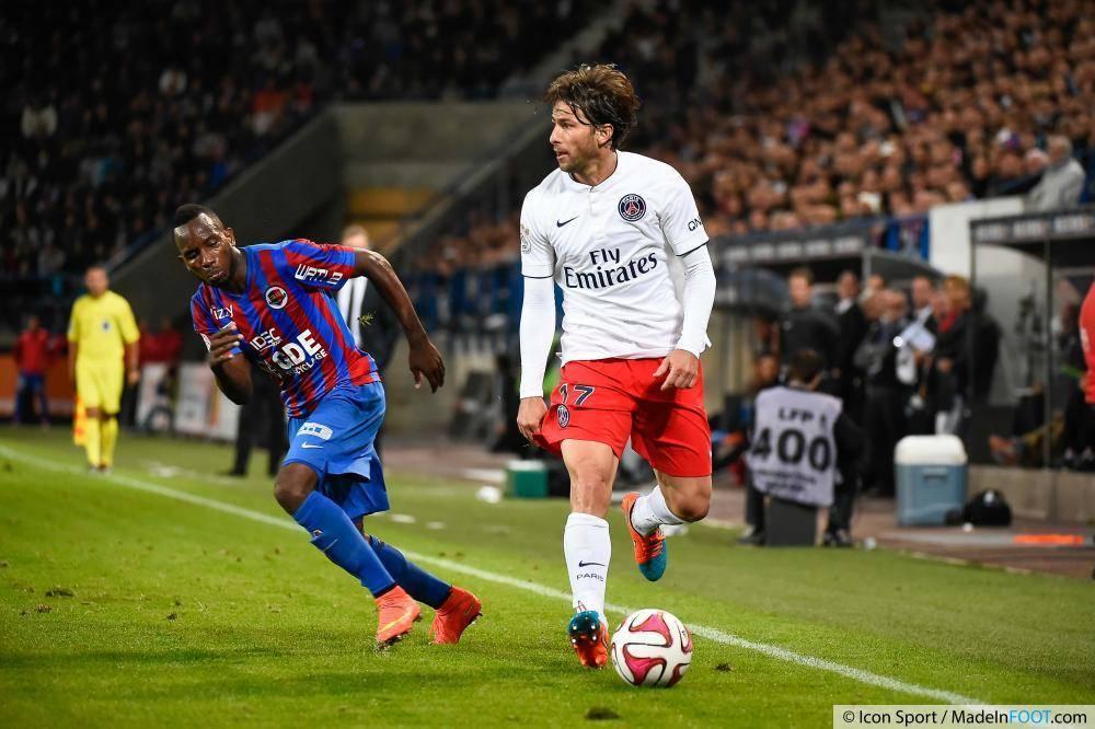 Vous avez élu Maxwell (PSG) comme étant le meilleur latéral gauche de la saison 2014-2015.