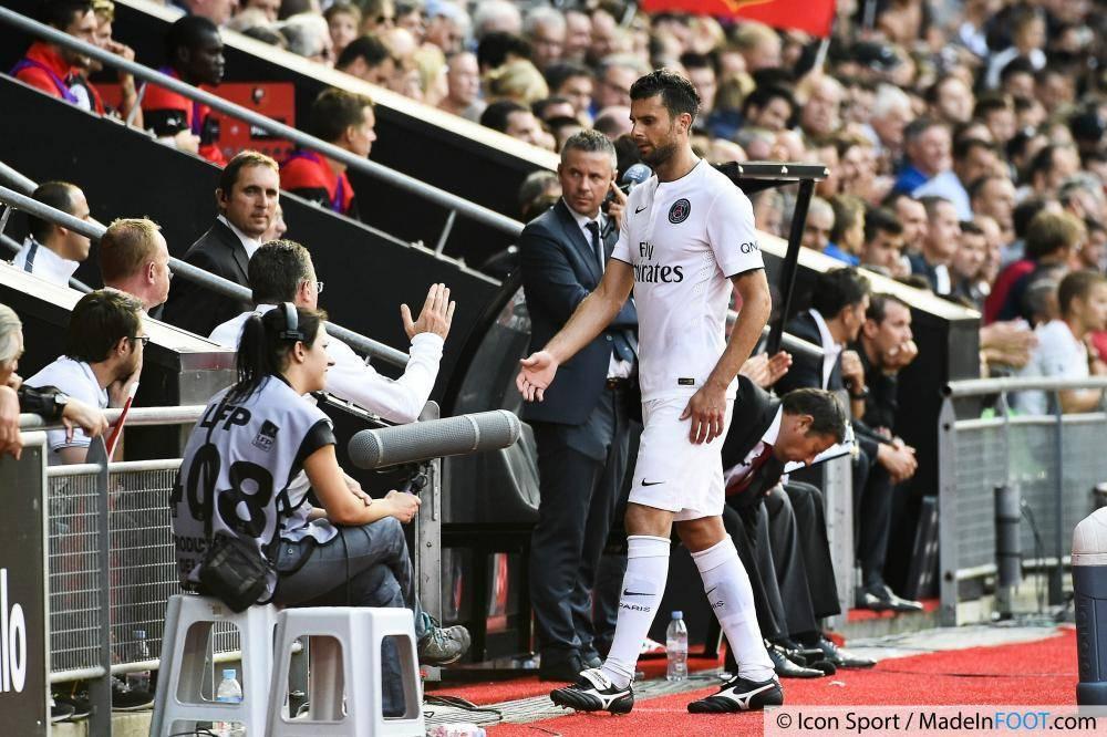 Thiago Motta n'était visiblement pas satisfait de sa prestation face aux Aiglons, samedi dernier