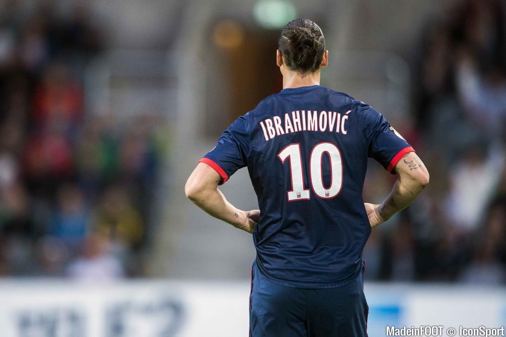 Zlatan Ibrahimovic est le seul représentant de la L1