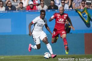 Jean-Christophe Bahebeck est lié avec le PSG jusqu'en 2019.